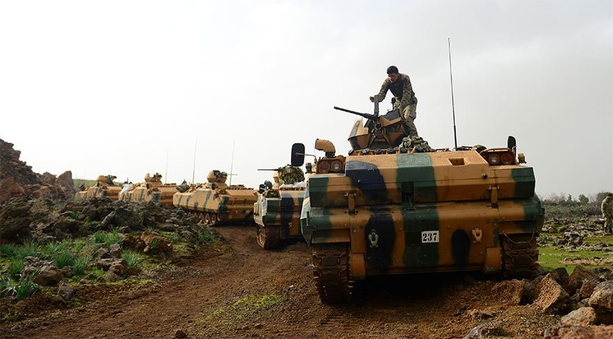 Son dakika... TSK'dan Afrin için son açıklama: Şehit iki askerin naaşına ulaşılamıyor