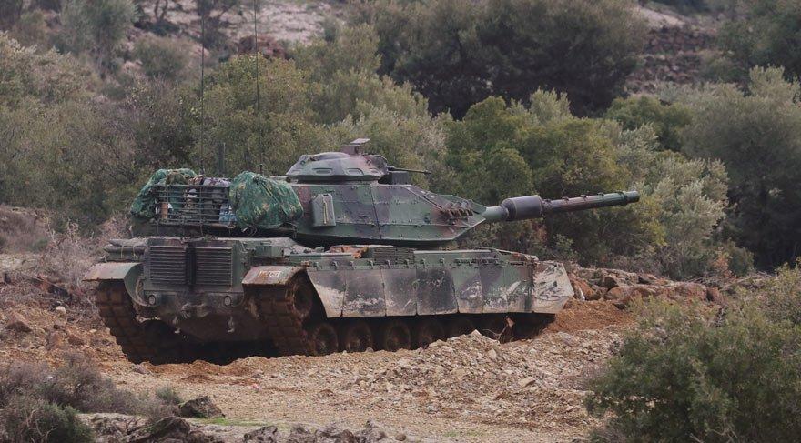 Afrin operasyonunda son durum: Yerle bir ediliyor! Bugün karadan… | Son dakika haberleri