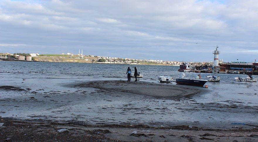 Esrarengiz olay! Marmara Denizi 15 metre birden çekildi