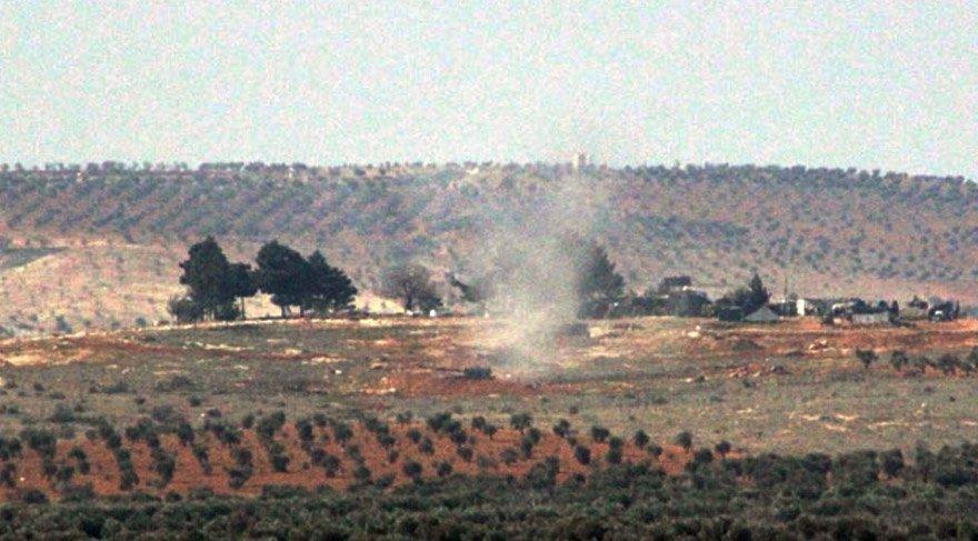 Son dakika haberi… TSK, terör örgütü PYD'nin Afrin'deki mevzilerini vurdu