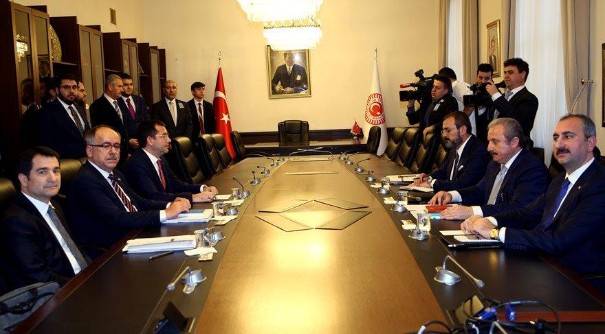 AKP-MHP İttifak Komsiyonu ilk kez toplandı
