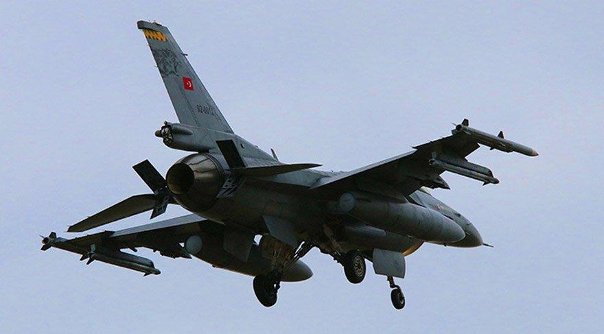 Türk savaş uçakları Afrin'deki terör hedeflerini vurmaya başladı