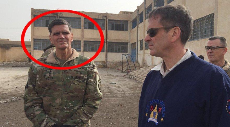 ABD'li general Rakka'da! Manidar ziyaret…