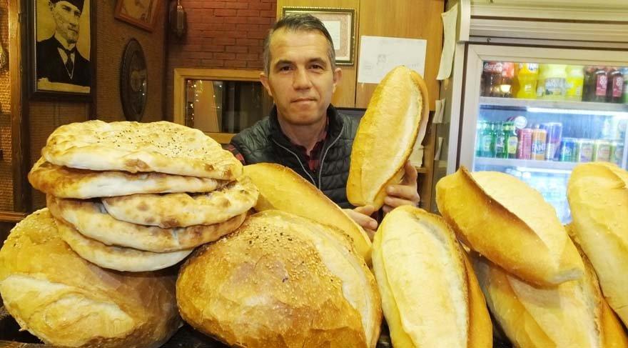 Aracıyı kaldıran fırıncı ekmeği de simidi de 75 kuruşa indirdi