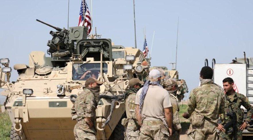 YPG'liler çıldırdı! ABD bayraklarını indiriyorlar...