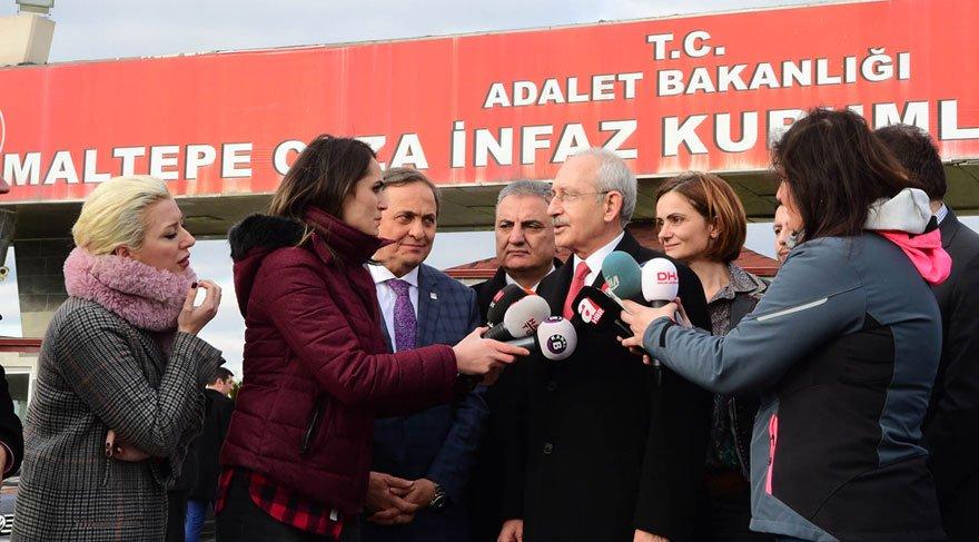 Kılıçdaroğlu'dan Enis Berberoğlu'na ziyaret