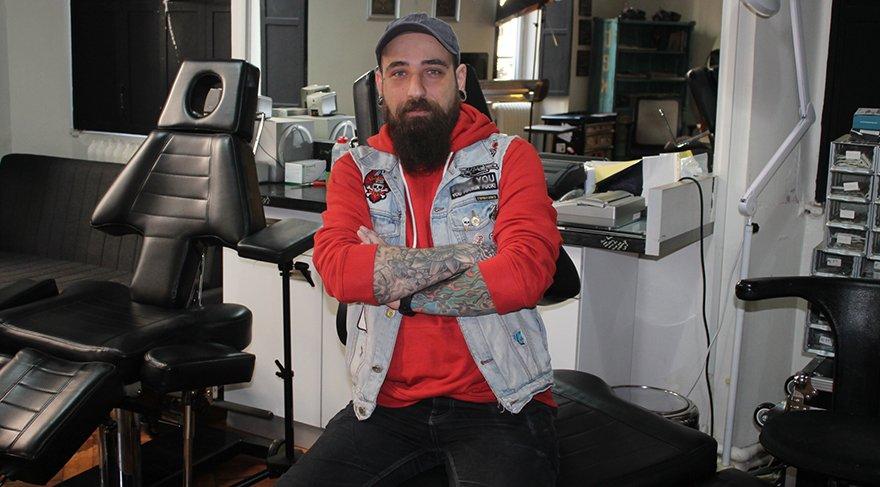 Dövme sanatçısı Soner Kurak