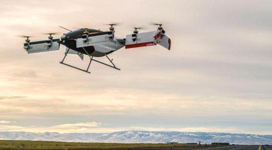 Uçan taksi Vahana ilk test uçuşunu gerçekleştirdi