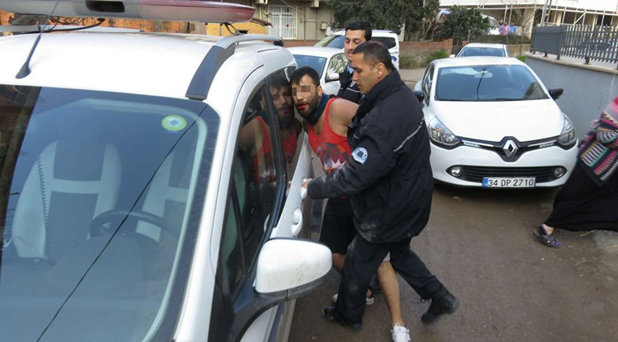 Kadın sürücüyü ihbar etti polis alarma geçti
