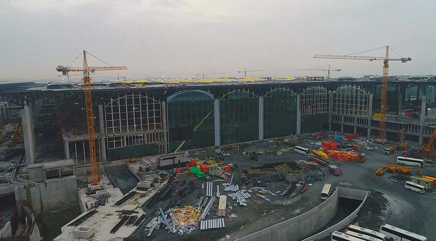 3. Havalimanı inşaatının yüzde 78'i tamamlandı
