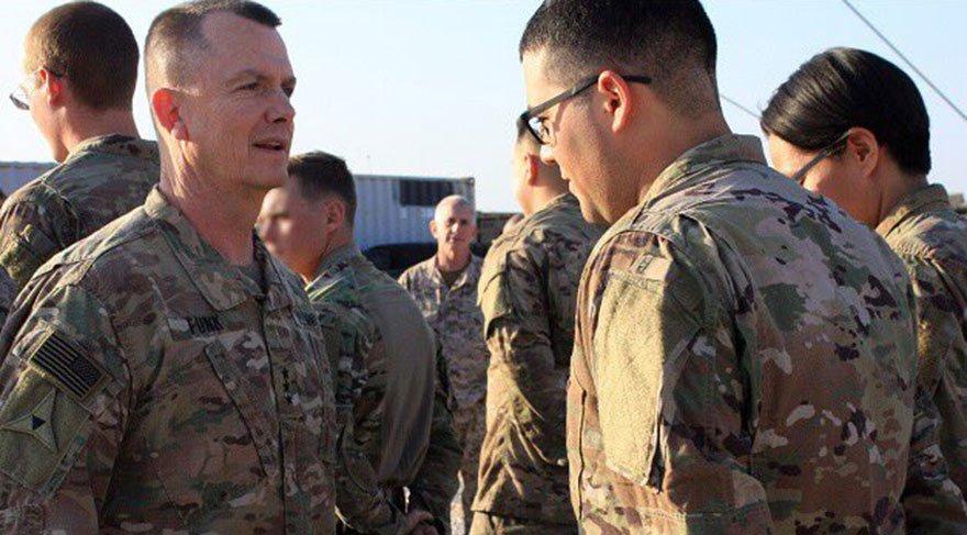 ABD'li general Funk, geçen hafta Menbiç'i ziyaret etmişti.