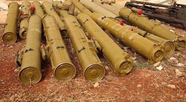 Suriye'de YPG hücresine baskın! O füzeler ele geçirildi