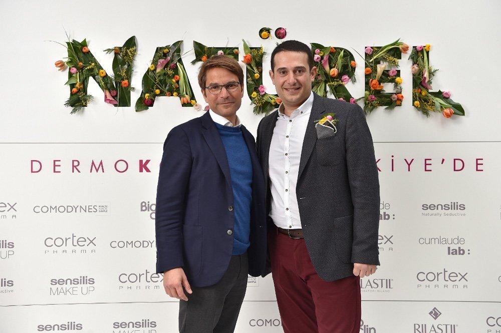 Ganassini Group CEO'su Giuseppe Ganassini ve Cortex Şirketler Grubu Yönetim Kurulu Başkanı Mustafa Tolga Demirci