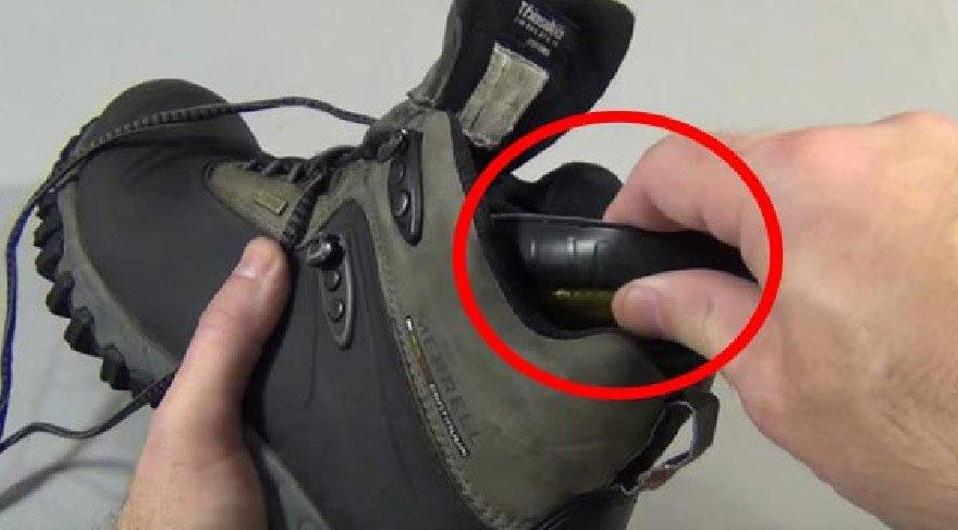 Kışın ayakkabınızın su almasını engelleyecek ilginç yöntem!