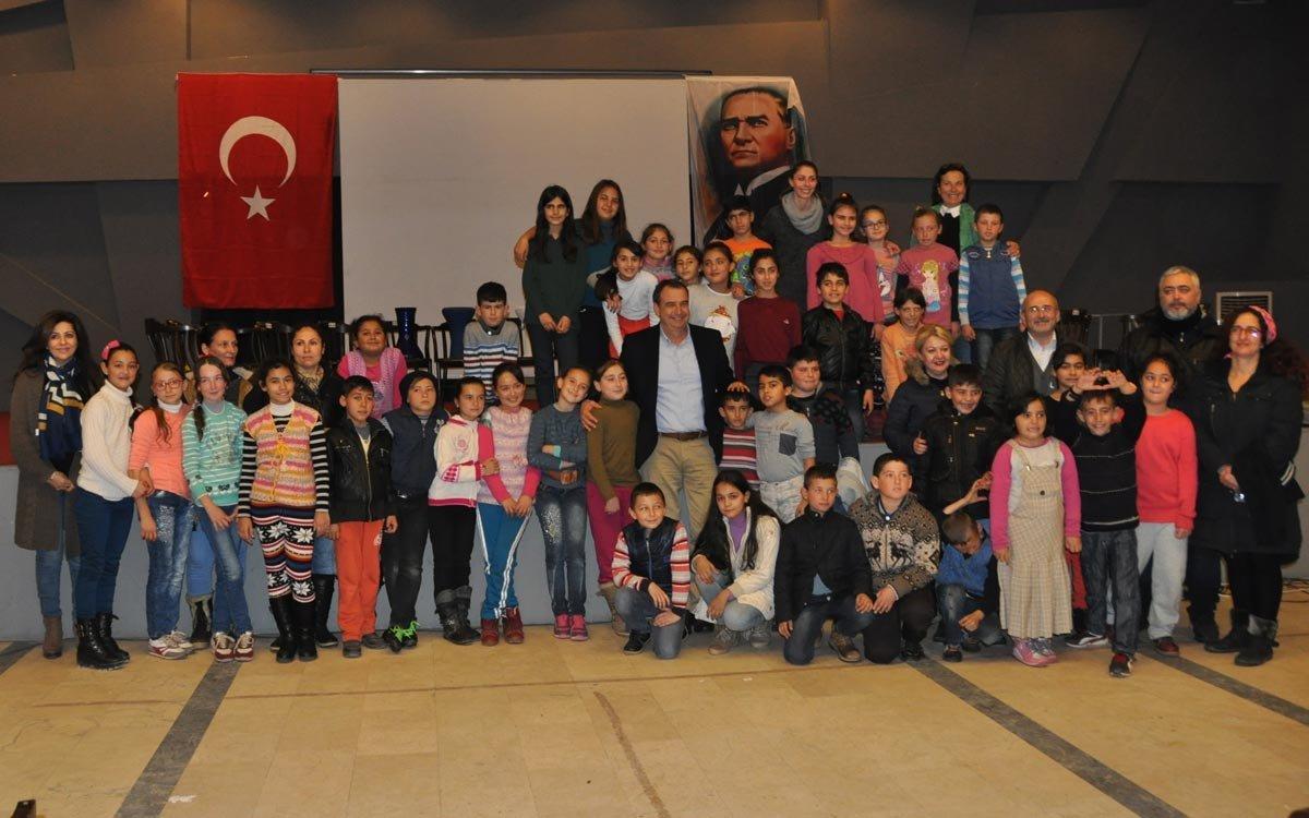 Boğaziçi Üniversitesi'nin desteğiyle yürütülen proje, bin çocuğa ulaştı.
