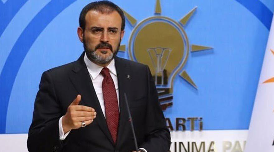 AKP Sözcüsü Mahir Ünal basın toplantısı düzenledi