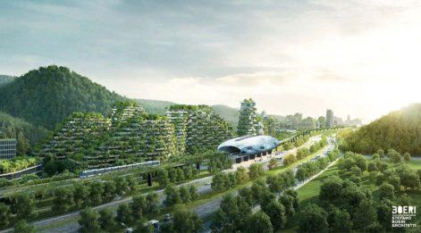 Stefano Boeri'nin yeni şehir projesi senede 900 ton oksijen üretecek