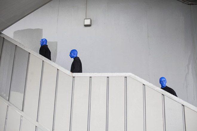 Zorlu PSM organizasyonuyla İstanbul´a gelen Blue Man Group, bugünden 25 Şubat'a kadar Zorlu PSM Ana Tiyatro'da izleyicilerle buluşacak. / DHA - Orhan Sencer