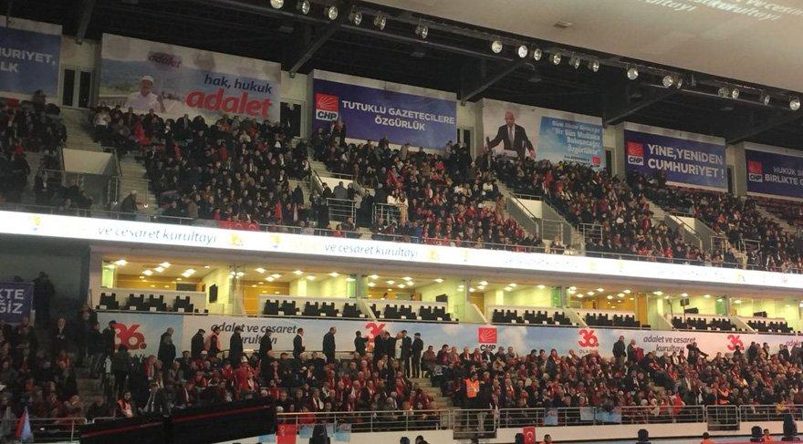 CHP kurultayında Erdoğan sürprizi