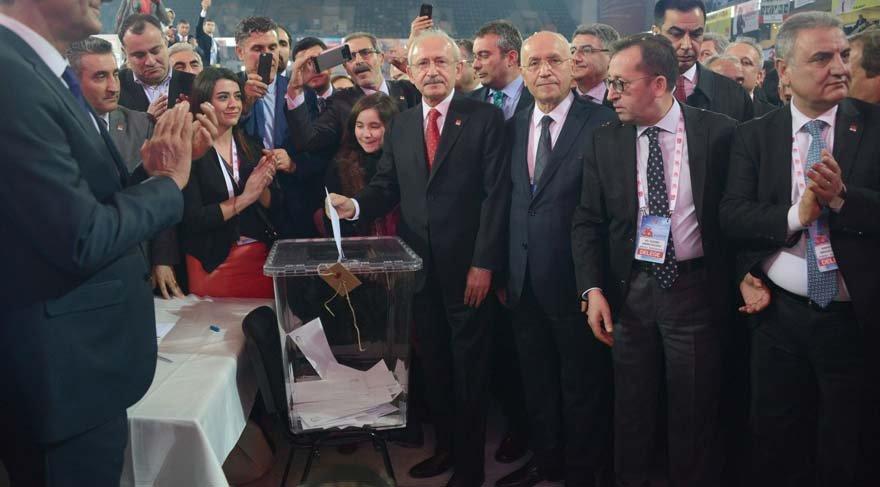 CHP 36. Olağan Kurultayı'nda yeni genel başkan belli oldu