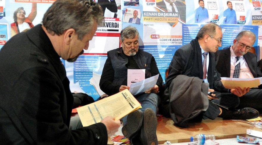 CHP'lilerin oylama çilesi