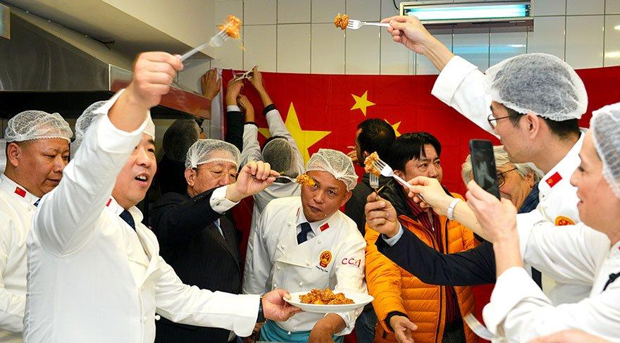 Çinli aşçılar, Maltepe'de hünerlerini sergiledi
