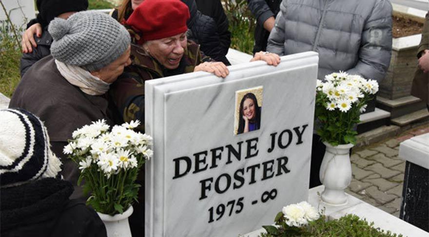 Defne Joy'suz 7 yıl… Annesi mezar taşına sarıldı