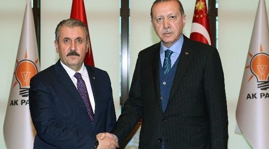 FOTO:İHA - Arşiv / AKP lideri ve Cumhurbaşkanı Erdoğan'ın BBP lideri Destici ile görüşeceği açıklandı.