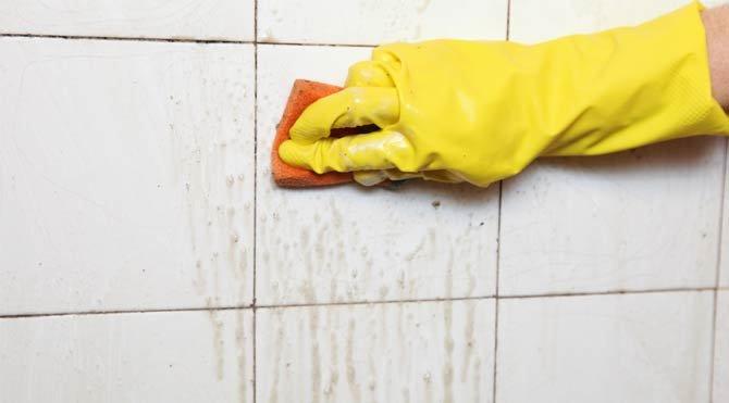 Fayansların arasındaki küf ve rutubet nasıl temizlenir?