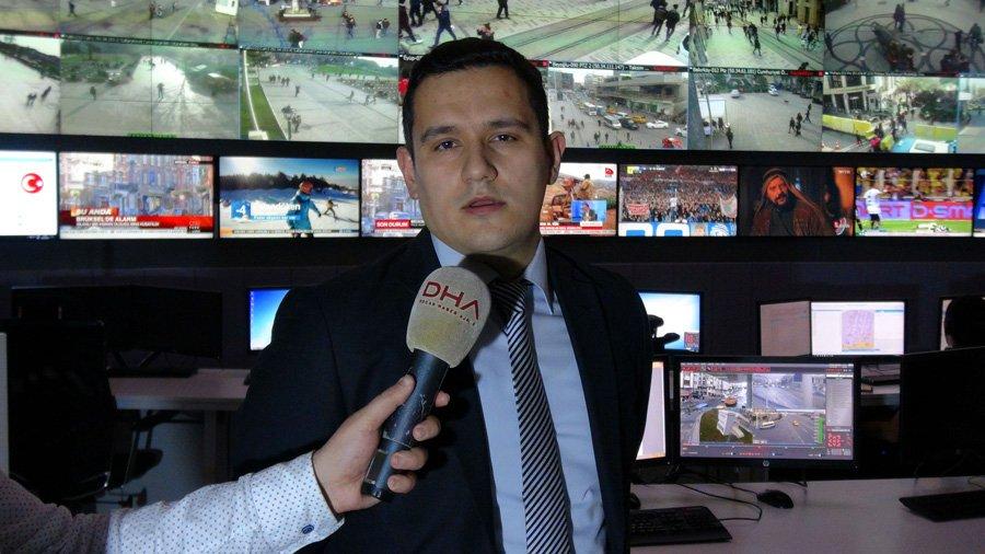 Komiser Yardımcısı Murat Ağademir kentin güvenliğini nasıl sağladıkları hakkında bilgi verdi.