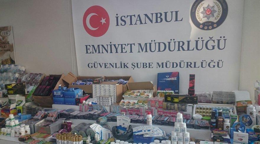 İstanbul'da 'milyonluk cinsel hap' operasyonu!