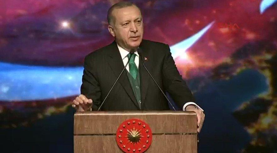 Erdoğan TÜGVA töreninde