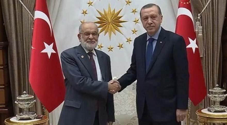 Erdoğan'dan SP lideri ile sürpriz görüşme!