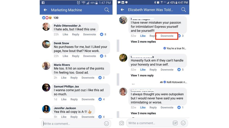 facebook-downote-dislike