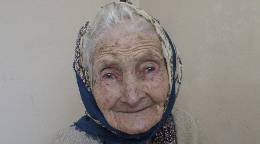 108 yaşındaki Fatma Nine, uzun yaşamasının sırrını anlattı