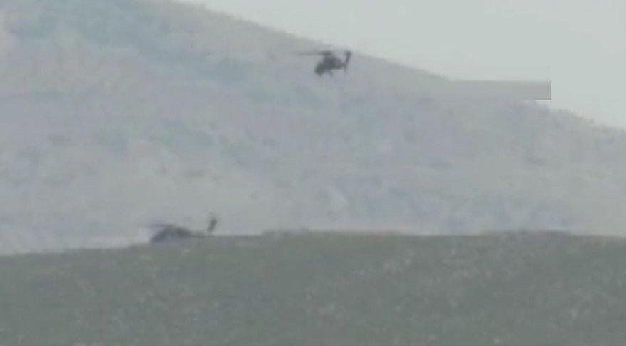 Son dakika haberi... Suriye sınırında helikopterimiz düşürüldü