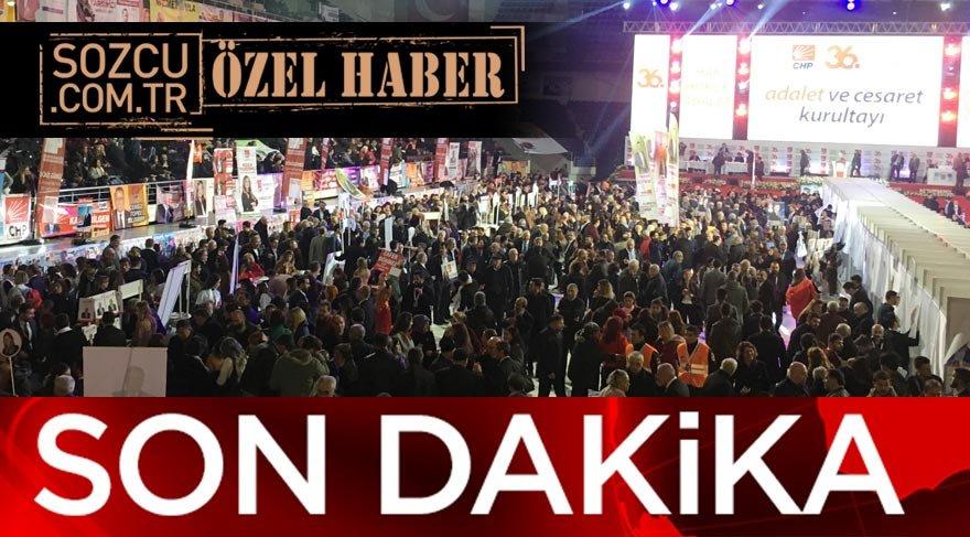 CHP Kurultayında seçime girecek ilk liste ortaya çıktı