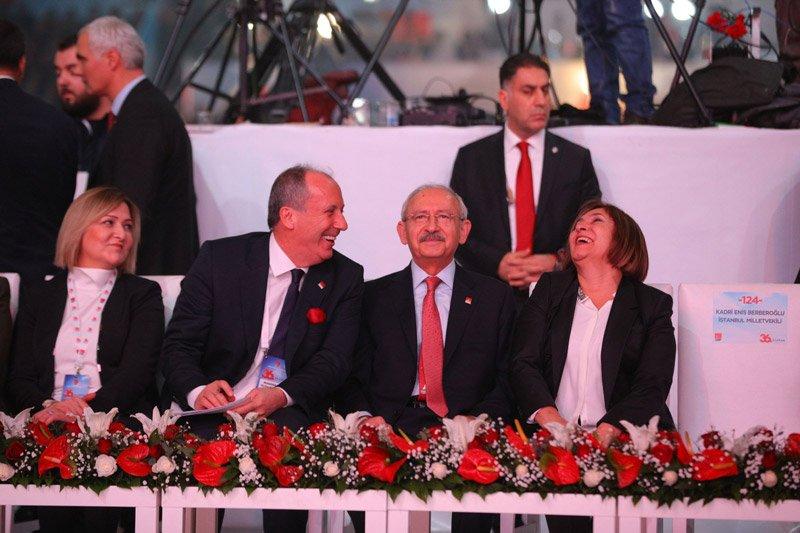 FOTO:SÖZCÜ/Yavuz ALATAN - Kılıçdaroğlu ve İnce çiftinin samimi sohbetleri dikkatlerden kaçmadı.