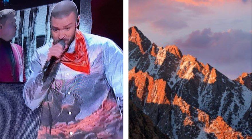 Justin Timberlake'in Super Bowl'da giydiği kıyafet alay konusu oldu