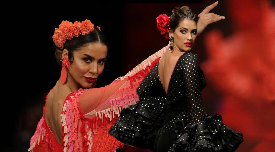 Flamenco kostümleri tanıtıldı
