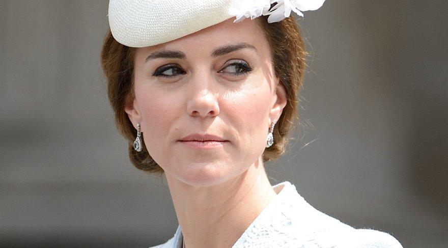 Kate Middleton'ın dudakları için özel ruj hazırlandı