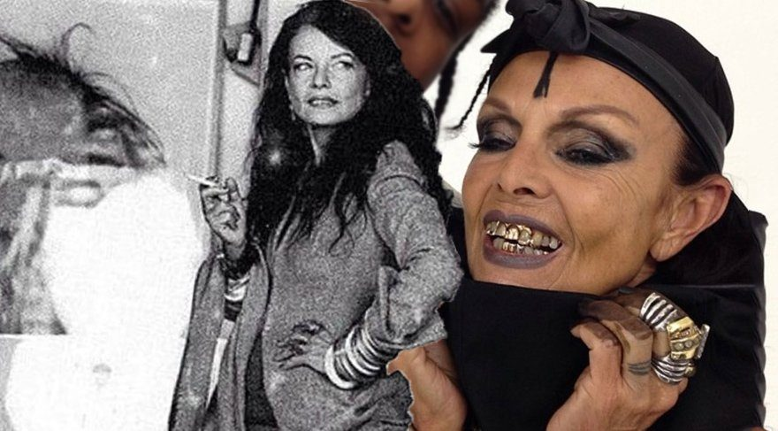 Michele Lamy ve değişmeyen stili