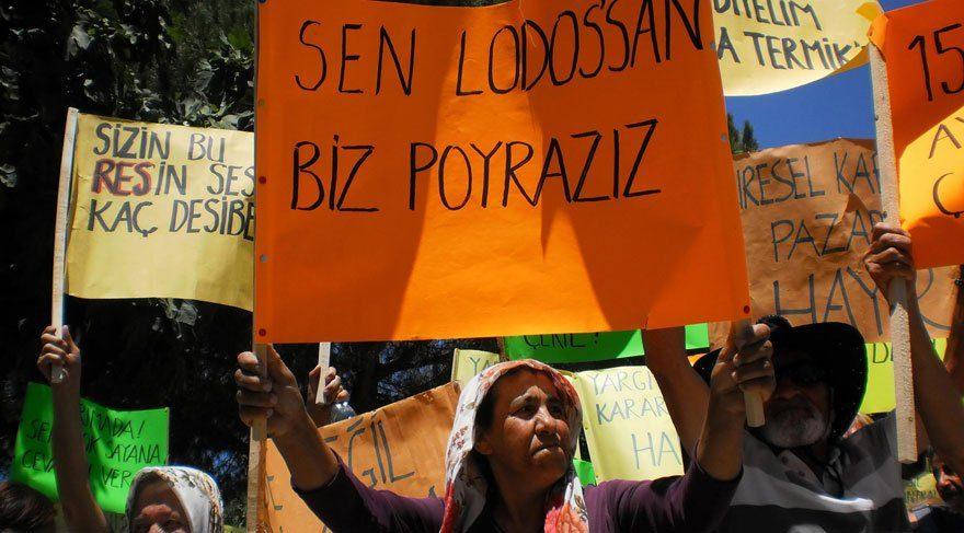 Karaburun'da RES isyanı: yaşam alanı kalmadı