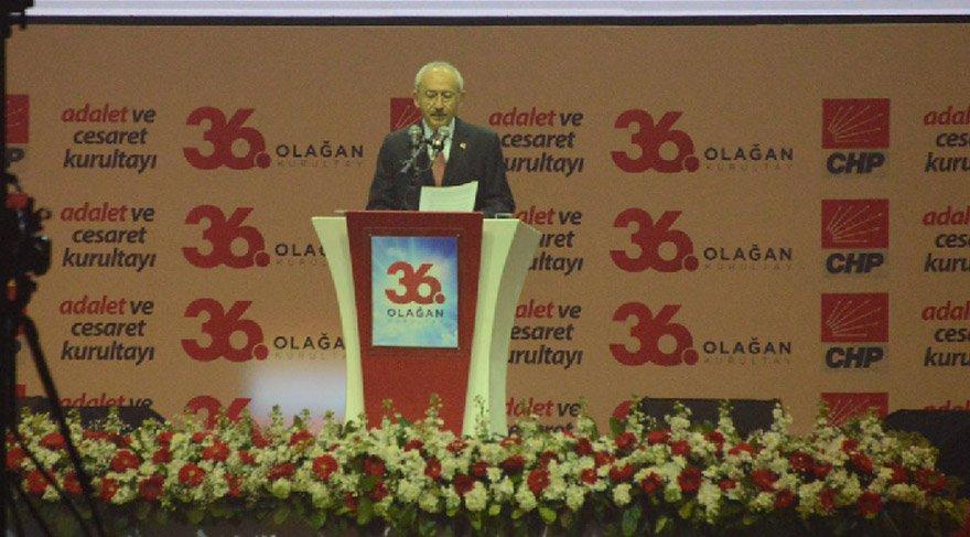 İşte Kılıçdaroğlu'nun 36. Olağan Kurultay konuşması...
