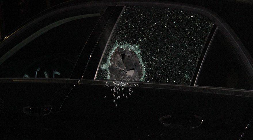 KONESOB başkanının aracına silahlı saldırı