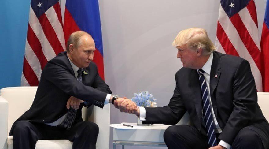 Putin ile Trump arasında sürpriz görüşme!