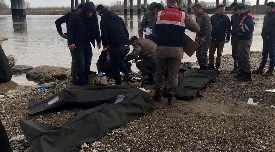 Edirne'de kaçakların botu alabora oldu: 3 ölü, 7 kayıp