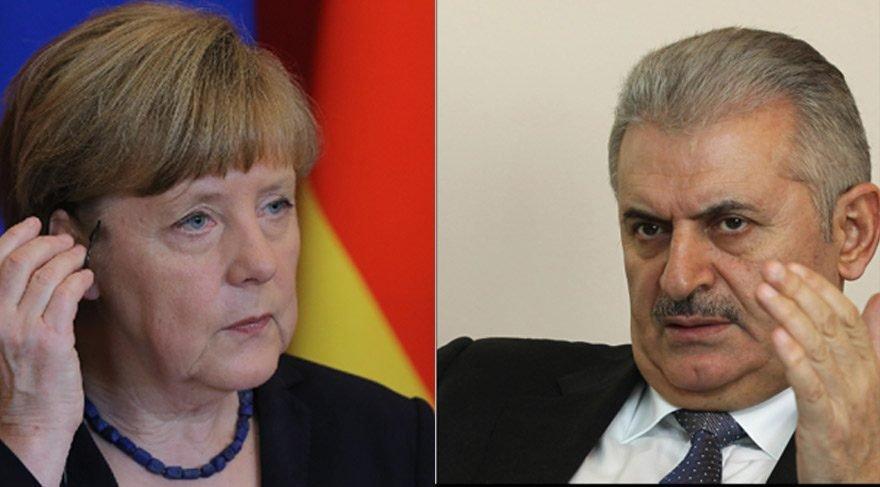 Son dakika gelişmesi... Yıldırım, Merkel'le görüşecek