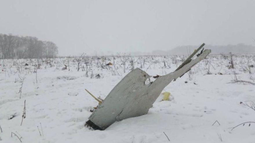 Yolcu uçağı Moskova'ya düştü