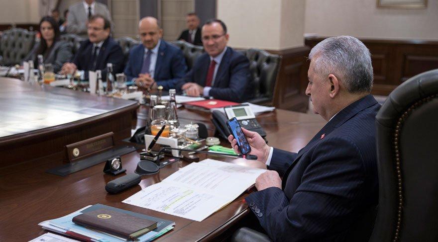 Başbakan PTTMessenger ile komutana bağlandı